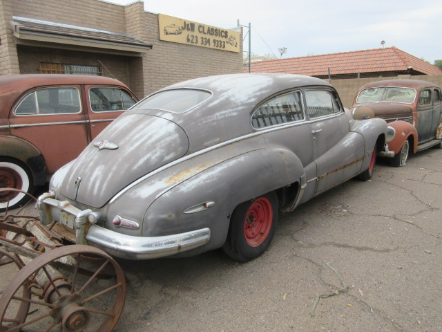 Cars For Sale In Arizona >> 1947 Buick Fastback