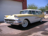 1958 Ford wagon by Copperstate Classic Cars