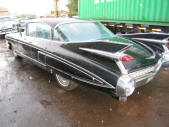 Black 1959 Cadillac Fleetwood by Copperstate Classic Cars