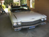 White 1960 Cadillac ElDorado Barritz Convertible by Copperstate Classic Cars