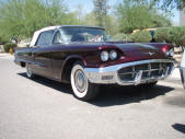 1960 Ford Thunderbird Convertible by Copperstate Classic Cars