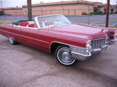 1965 Cadillac Convertible Red by Copperstate Classic Cars