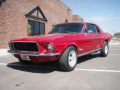 1968 Ford Mustang Coupe by Copperstate Classic Cars