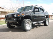 Custom Black 2007 Hummer H2 by Copperstate Classic Cars