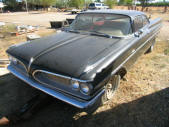 Black 1959 Pontiac Catalina 2drht Coupe by Copperstate Classic Cars
