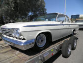 1961 Chevy 2 door post sedan by Copperstate Classic Cars