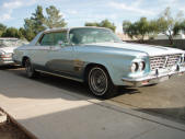 Custom 1963 Chrysler New Yorker by Copperstate Classic Cars