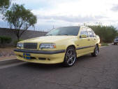 Yellow 1995 Volvo T5R by Copperstate Classic Cars